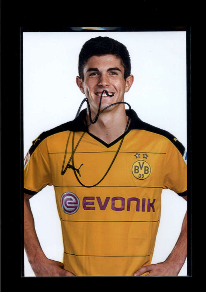 Christian Pulisic JSA Signed Autograph 4x6 Photograph Authentic Borussia Dort. USA