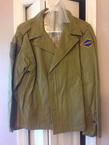 Saving Private Ryan Crew Only Jacket w/ Bag Studio Gift London Prop Store COA