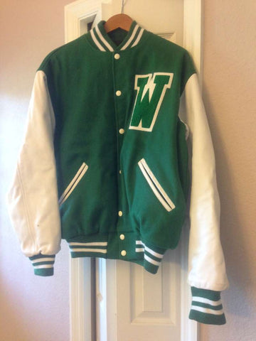 Blindside Wingate Letterman Jacket Prop Screen-Used Authentic COA
