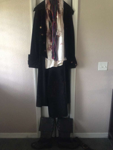 Zombieland Pirate Zombie Costume Outfit Cesar Botero Screen Used COA