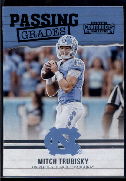 2017 Panini Contenders Draft Picks Passing Grades #2 Mitchell Trubisky Mint