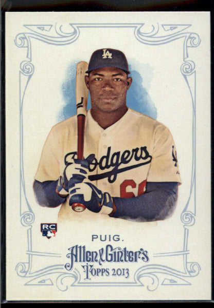 2013 Allen and Ginter #44 Yasiel Puig Mint RC