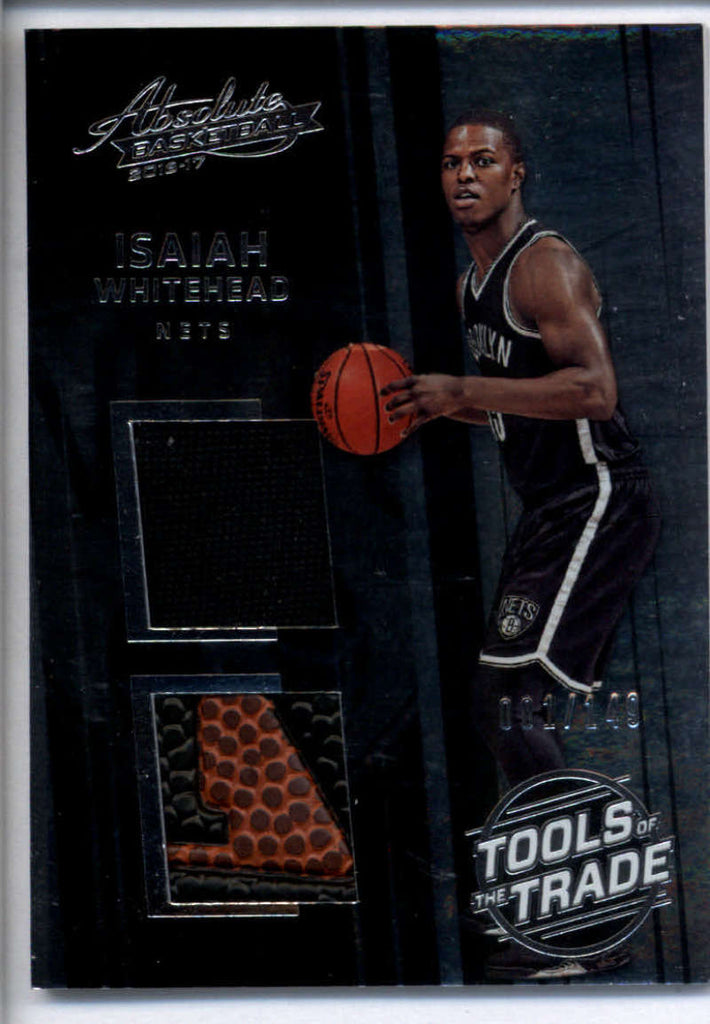2016-17 Panini Absolute Tools of the Trade Dual Rookie Materials #2 Isaiah Whitehead Mint Jersey Patch 1/149