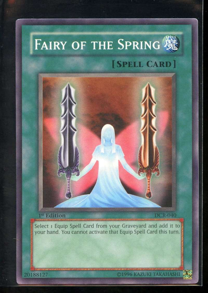 Fairy of the Spring 1st Edition DCR-040 Yugioh! Dark Crisis NM-MT