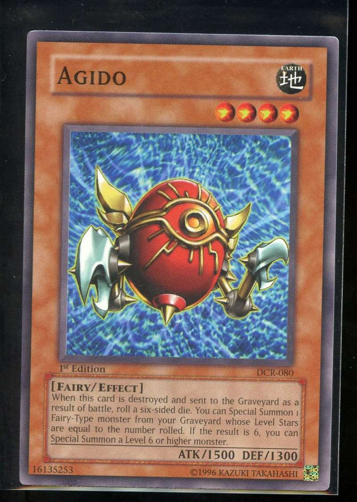 Agido 1st Edition DCR-080 Yugioh! Dark Crisis NM-MT
