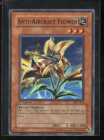 Anti-Aircraft Flower 1st Edition IOC-076 Yugioh! Invasion of Chaos NM-MT