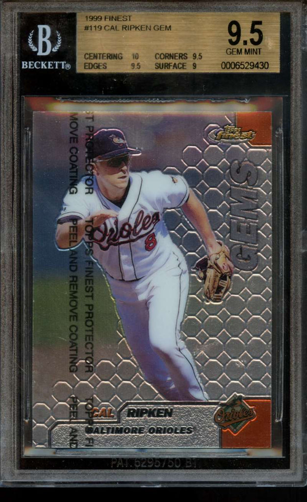 Cal Ripken Jr 1999 BGS 9.5 Gem Mint #119