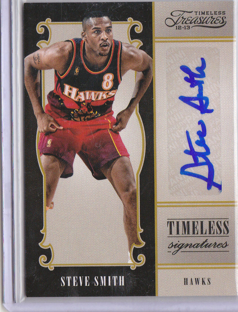 STEVE SMITH 2012-13 TIMELESS TREASURES SIGNATURES AUTO #009/199 *ATL HAWKS*  L1