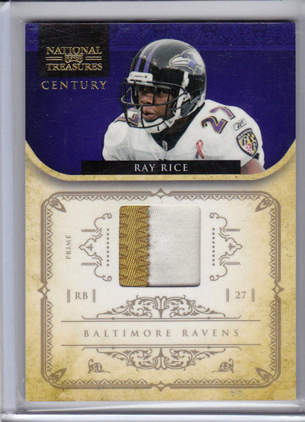 TERRELL SUGGS 2011 PLATES & PATCHES 2 COLOR PRIME SP JERSEY NAMEPLATE #11/25   r