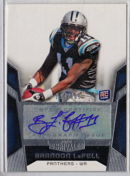 BRANDON LAFELL 2010 CERTIFIED POTENTIAL #9 GOLD RC SP /25 ROOKIE CARD PATRIOTS k