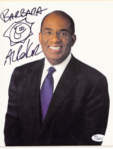 AL ROKER SIGNED 8x10 COLOR PHOTO JSA COA AUTHENTIC AUTO AUTOGRAPH today show  a