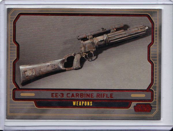 ASK AAK 2012 TOPPS STAR WARS #448 GALACTIC FILES SP #34/35 RED FOIL PARALLEL 1