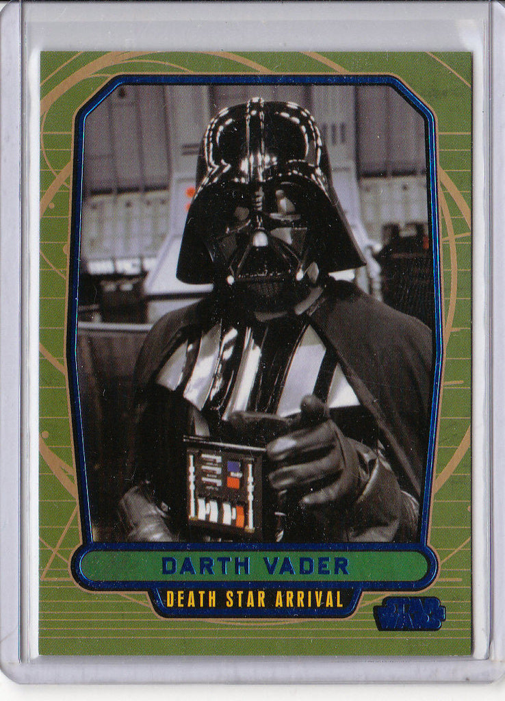 DARTH VADER 2012 TOPPS STAR WARS #516 GALACTIC FILES #133/350 BLUE FOIL SP 1