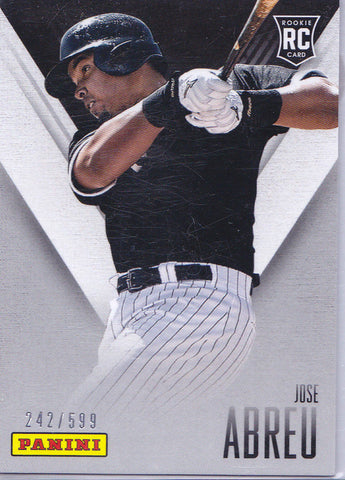 JOSE ABREU 2014 PANINI FATHER'S DAY #29 ROOKIE CARD SP #242/599 *WHITE SOX* j
