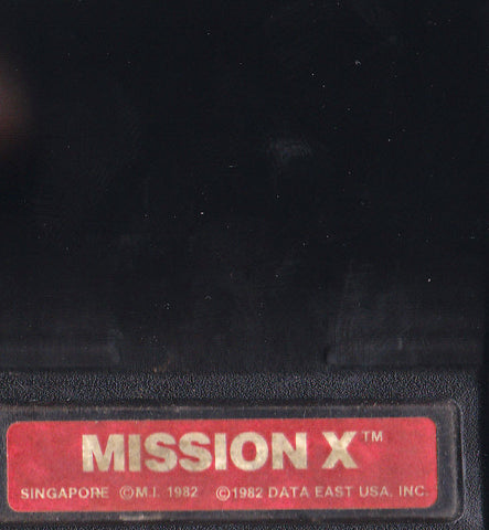 MISSION X (1983) Intellivision Original Video Game Cartridge *world war II*  1