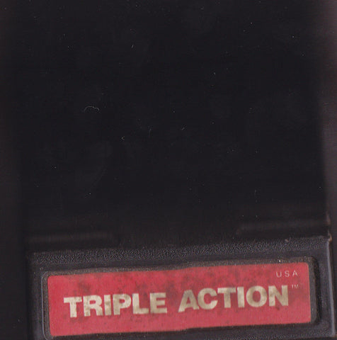 TRIPLE ACTION (1981) Intellivision Original Video Game Cartridge 1
