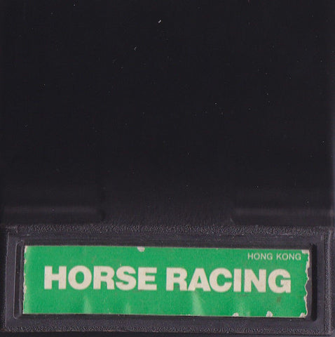HORSE RACING (1979) Intellivision Original Video Game Cartridge 1