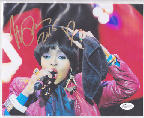 LAURYN HILL 8x10 SIGNED COLOR PHOTO AUTHENTIC AUTOGRAPH JSA PSA COA *DOO WOP* ya