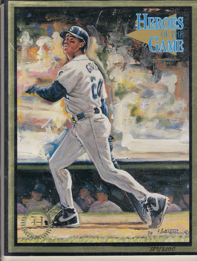 KEN GRIFFEY JR. HEROES OF THE GAME MAGAZINE (1994) COLLECTOR'S EDITION /2100  a
