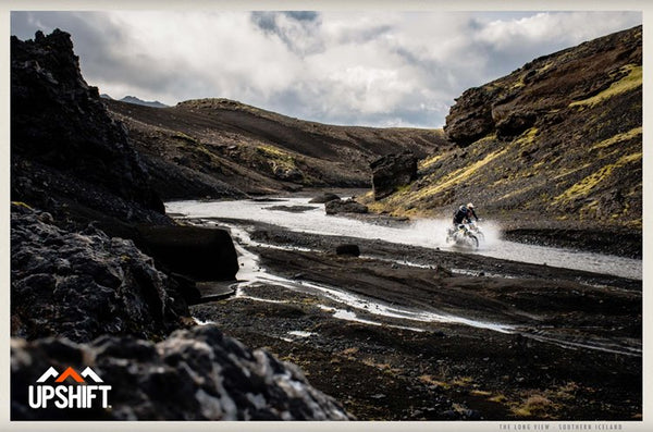 Motorcycle Adventure Riding in Iceland