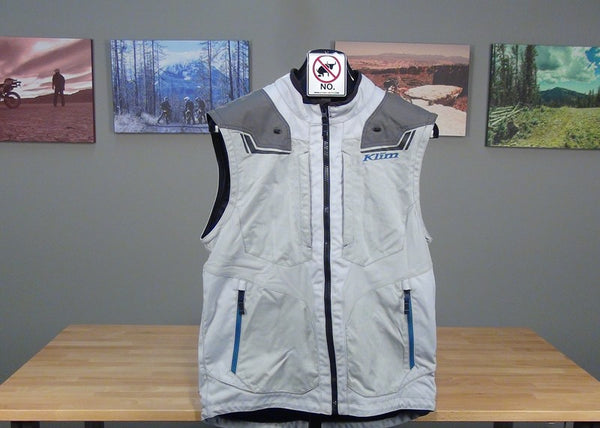 Klim Dakar Jacket sleeves removed