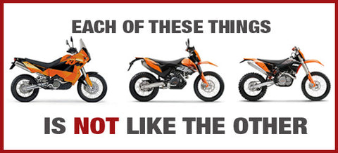 What is a dual sport bike?
