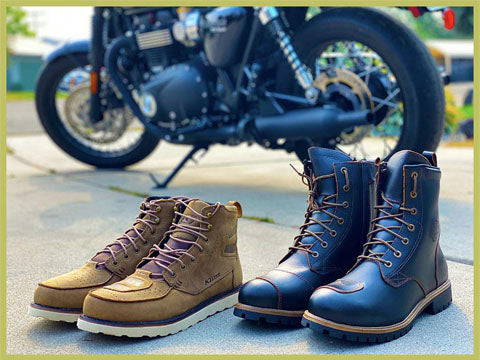 DOGFIGHT - Urban Riding Boots: Klim Blak Jak vs. Forma Legacy