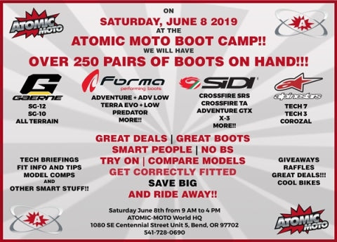 ATOMIC MOTO BOOT CAMP!!