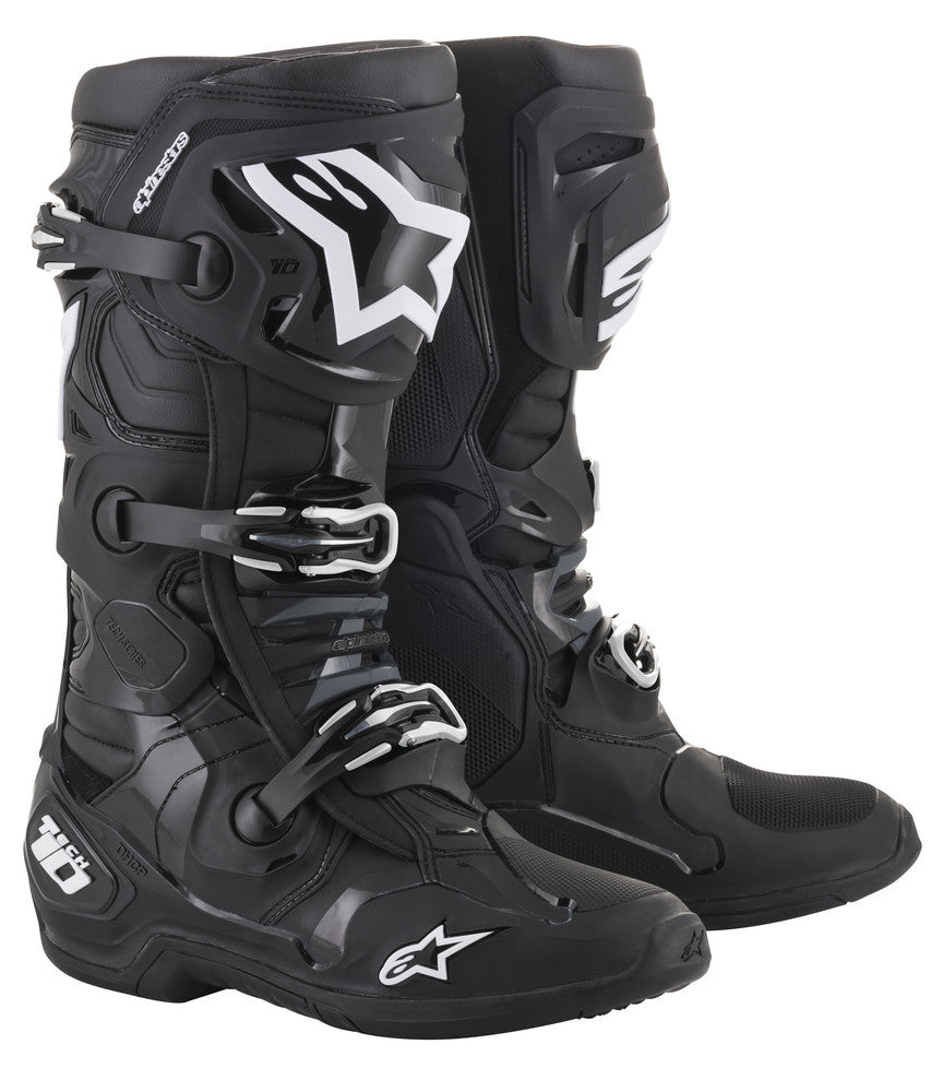 VARIOUS SIZES ALPINESTARS TECH LOAD GORE-TEX BLACK MOTORCYCLE BOOTS