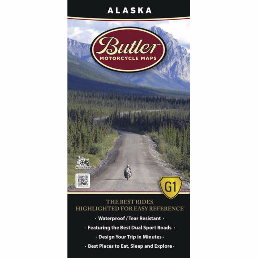 Butler Maps Alaska G1 Map