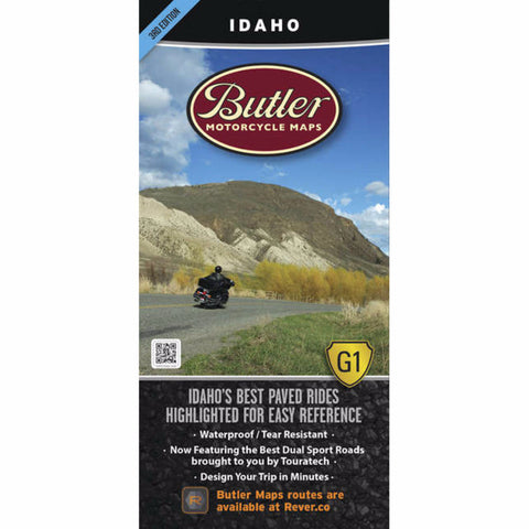 Butler Motorcycle Maps Idaho G1 Map