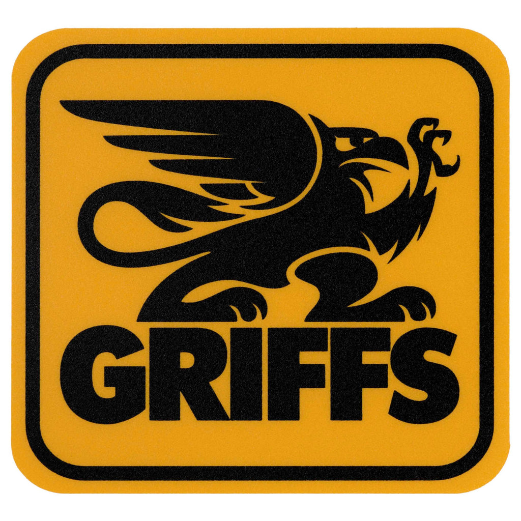 GRIFFS LEXAN Classic Decal in Yellow