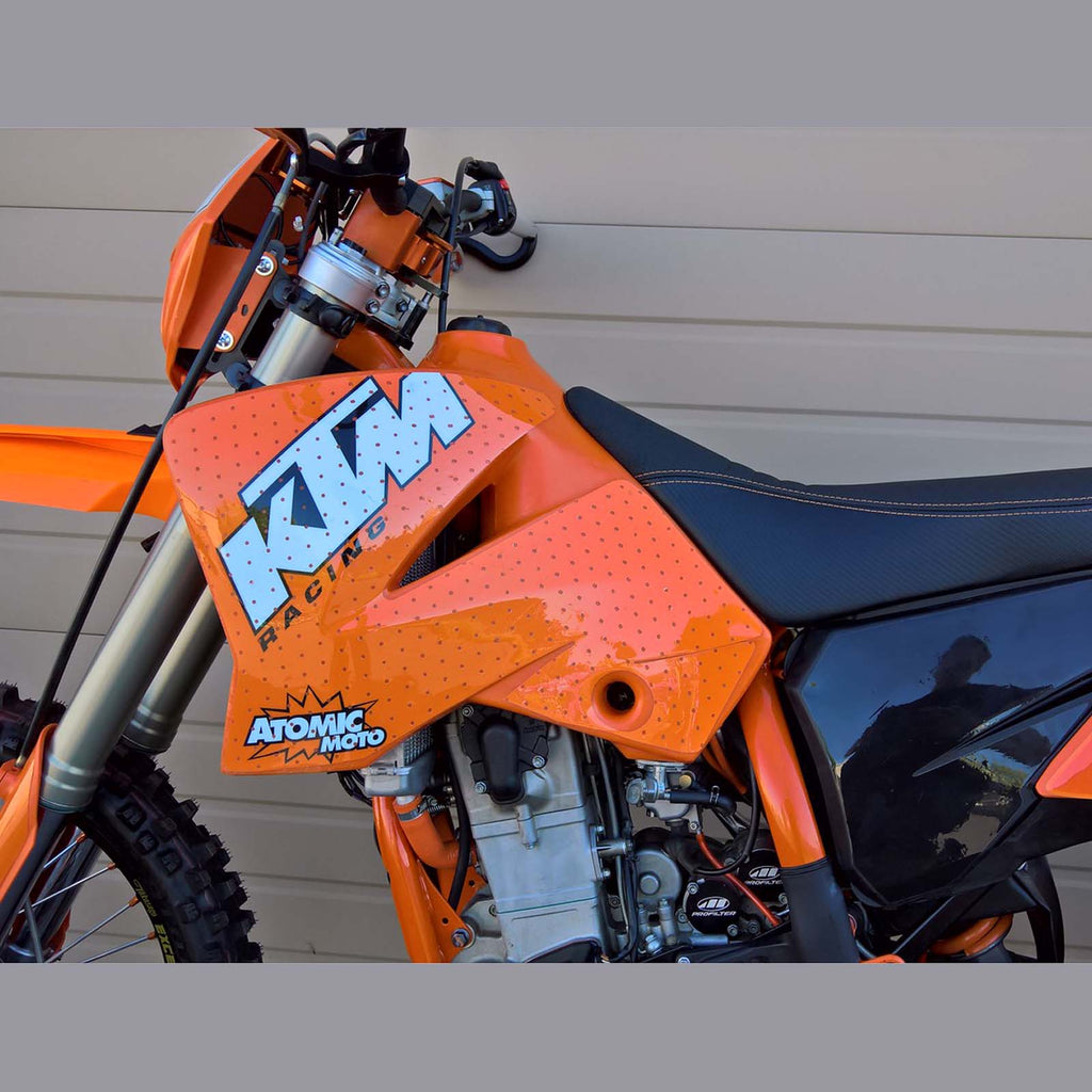 Atomic-Moto KTM XC Tank Graphics