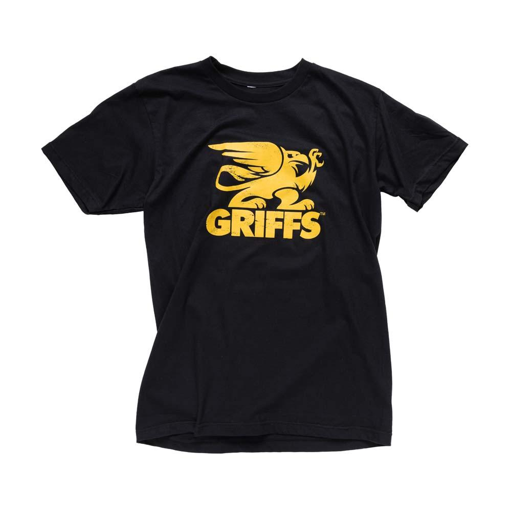 GRIFFS Classic Tee in Black