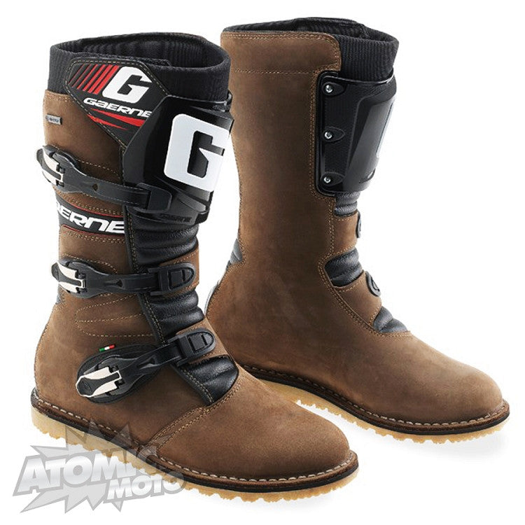 5 Gaerne Balance Oiled Boots Brown