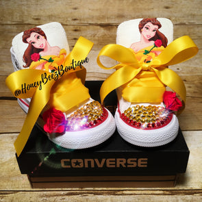 *CREATE YOUR OWN CONVERSE - Honey Beez