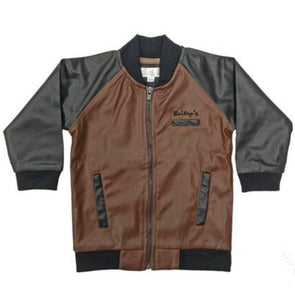 MARCO LEATHER BOMBER