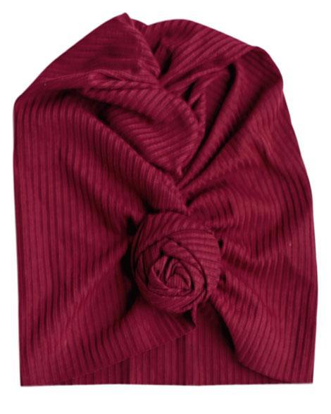 TWISTED BUN TURBAN *WINE - Honey Beez