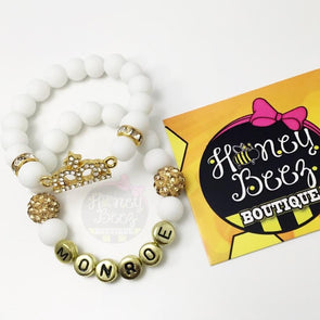 CROWN BRACELET - Honey Beez