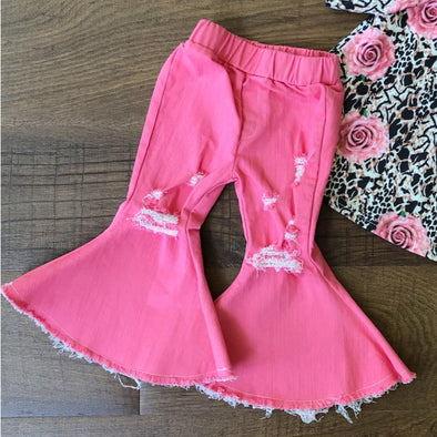 PINK BELL JEANS - Honey Beez