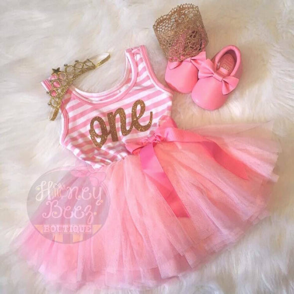 BIRTHDAY PRINCESS DRESS - Honey Beez