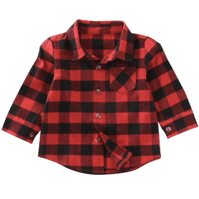 BUFFALO PLAID SHIRT - Honey Beez