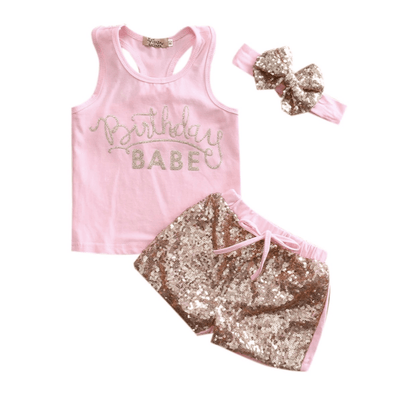 GLAM BIRTHDAY BABE SET - Honey Beez