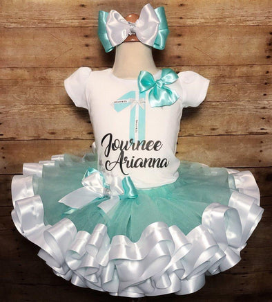 *CUSTOM RIBBON TRIM TUTU SET - Honey Beez