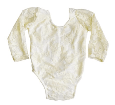 LACE LEOTARD *CREAM - Honey Beez