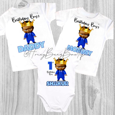 BOSS BABY BOY TSHIRT *AA - Honey Beez