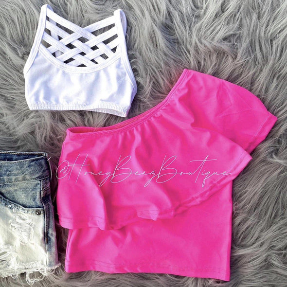 MILLY SWING TOP *HOT PINK