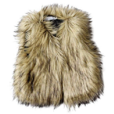 BOHO FUR VEST - Honey Beez