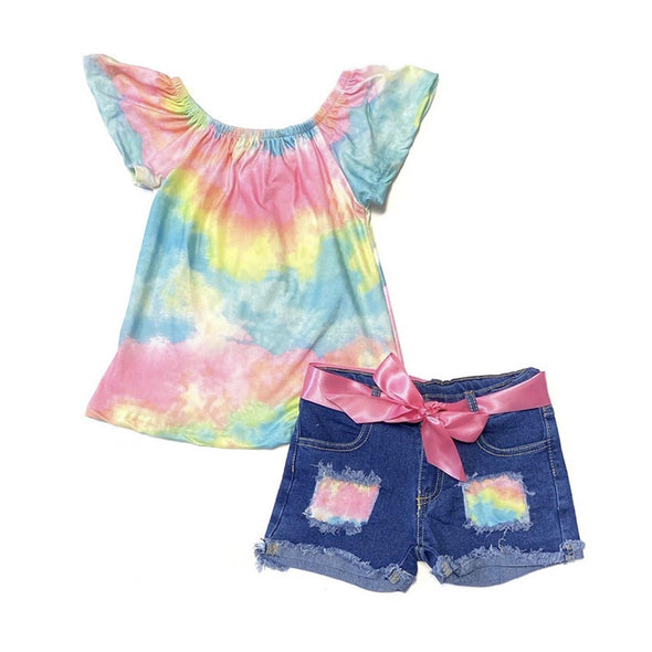 PASTEL TIE DYE SET - Honey Beez