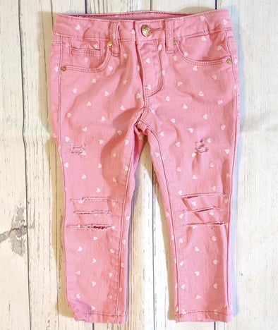 PINK PASSION SLASH JEANS - Honey Beez